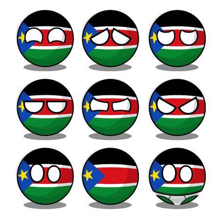 south sudan countryball
