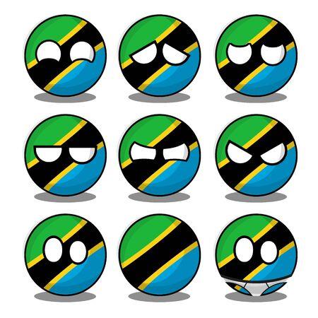 tanzania countryball