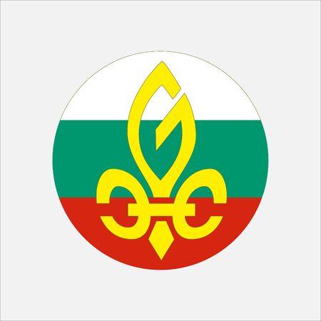scout guides emblem logo badge bulgaria