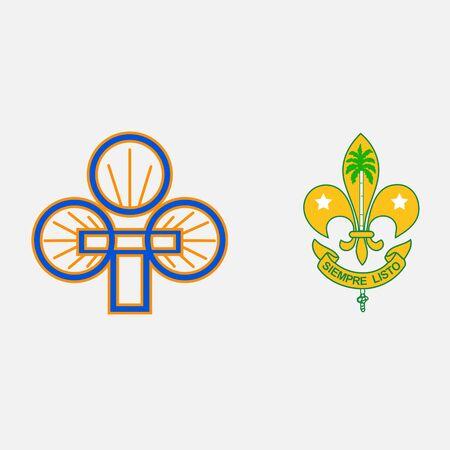 scout guides emblem logo badge cuba