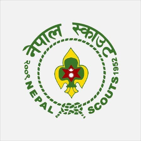 scout guides emblem logo badge nepal