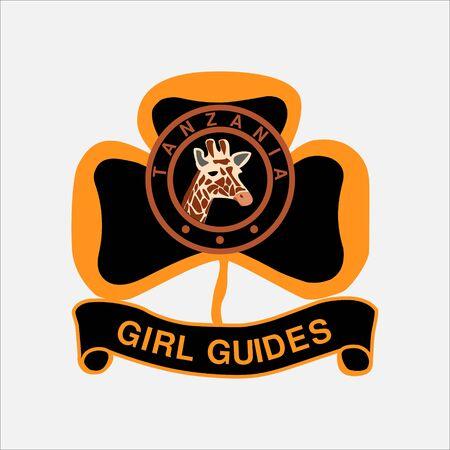 scout guides emblem logo badge tanzania