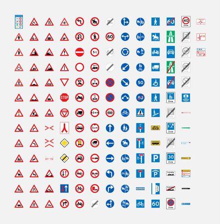 denmark road traffic sign symbol