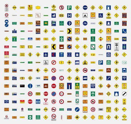 symbole de panneau de signalisation de malaisie Vecteurs