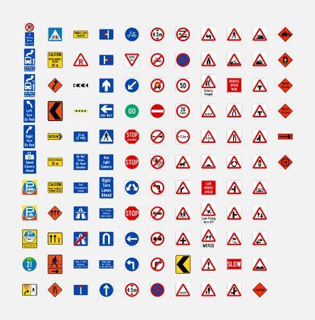 singapore road traffic sign symbol