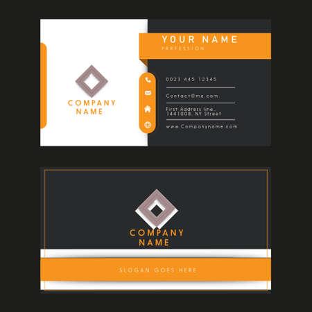 business name card illustration design