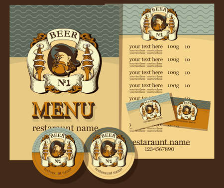 Vintage Reastaurant Menu Design Ideas