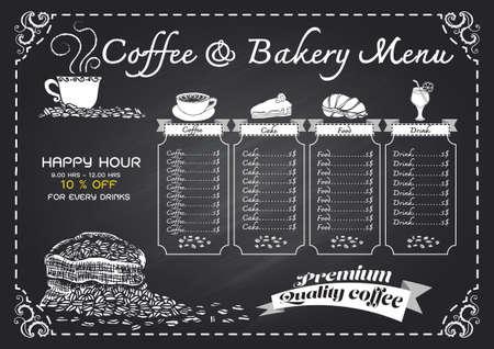 Coffee Menu Cafe Design Ideas