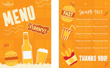 Drinking Beverage Menu Design Ideas