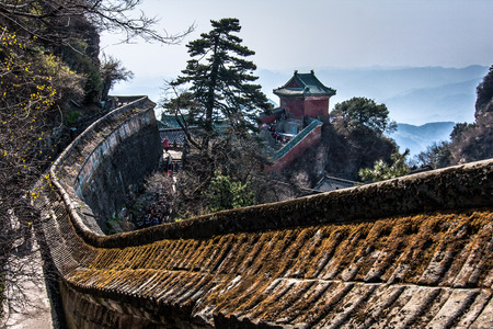 wuhan: Mt.Wudan, Wuhan, China Stock Photo