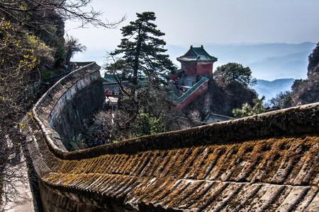 wuhan: Mt.Wudan, Wuhan, China Stock Photo