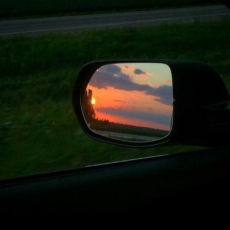 roadtrip: Roadtrip sunset