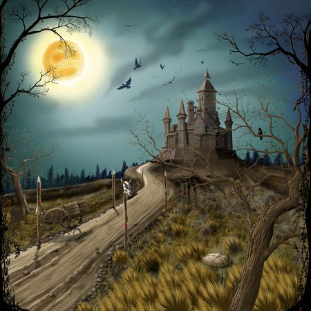 old moon: Old Castle