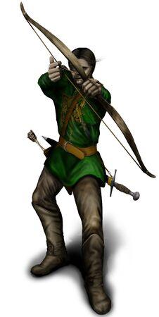 archer Foto de archivo