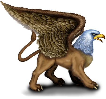 griffin: Mythology Griffin Stock Photo