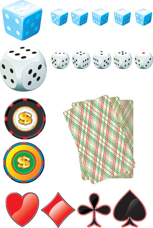 Casino Set Stock Vector - 4188008
