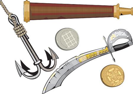 scimitar: corsair set.