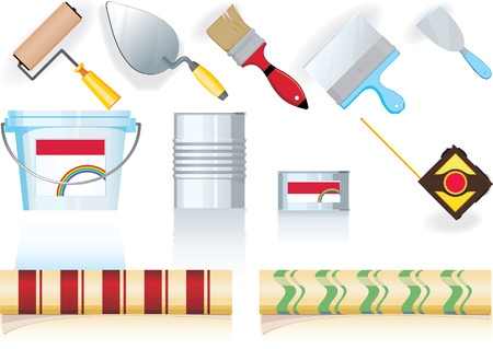 tool for painters Stock Vector - 4808260