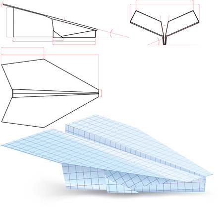 wastepaper: paper plane project