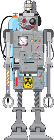 retro robot: fun retro robot
