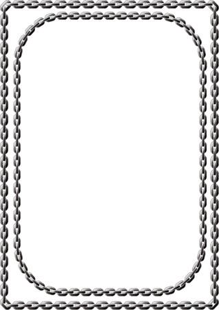 chain links: Chain Frame Illustration