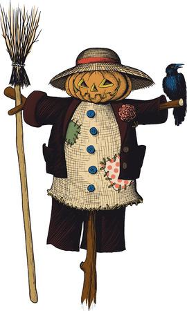 Scarecrow Stock Illustratie