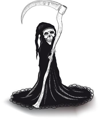 cowl: death Illustration