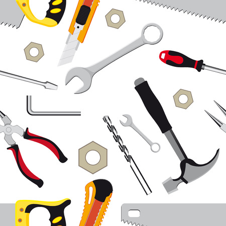 clamps: hand tools background