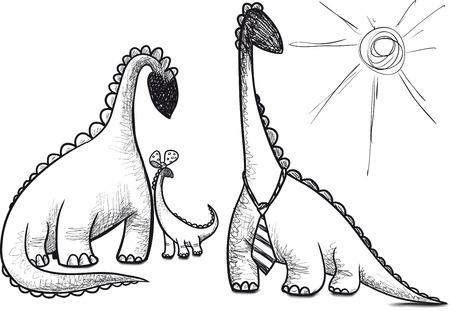 saurian: family dinosaur