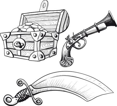 Little Pirate Ste Illustration