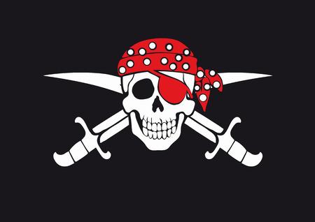 roger: Jolly Roger pirate flag