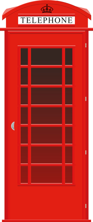 payphone: One symbol of the UK red street telephone booth