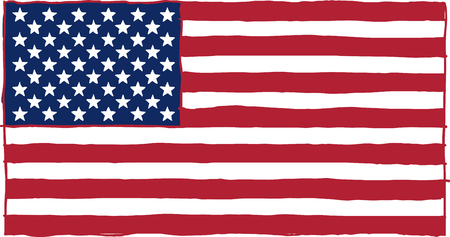 nationalism: flag of the USA