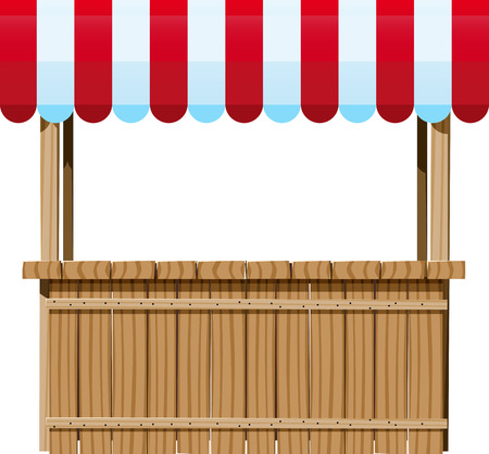 Wooden Ciosk
