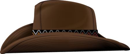 Cowboy Hat illustration. Illustration