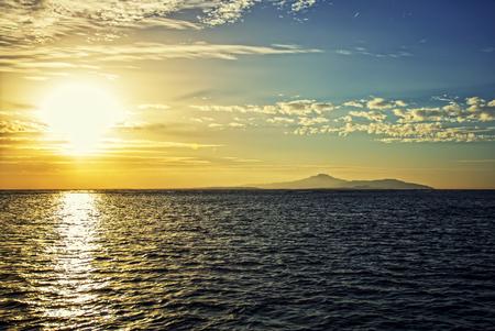 Sunrise Tiran Island