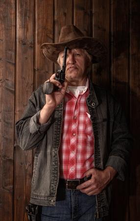 cowboy di mezza età