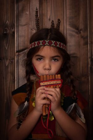american indian girl Reklamní fotografie