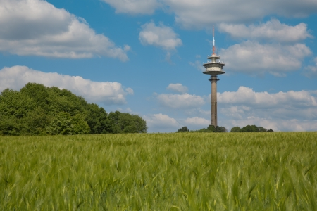 Televisiontower in landsape