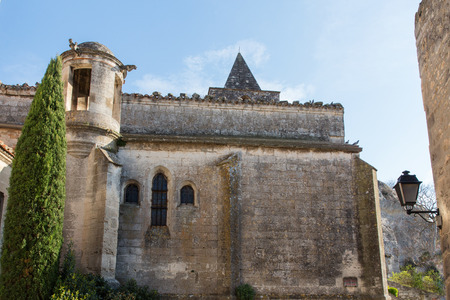 beau: The church of Beau de Provence in France