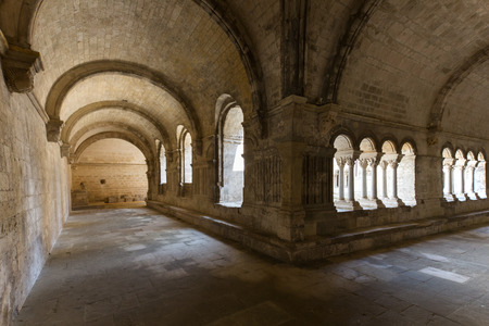 cloister: The cloister of a chapel in the Provence