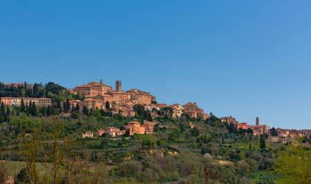 montepulciano: The Village Montepulciano in Tuscany