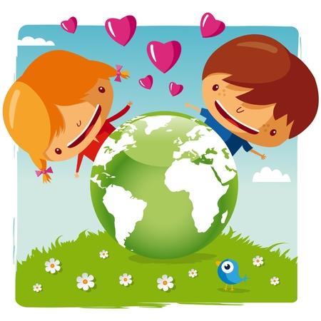 planisphere: amare il nostro pianeta