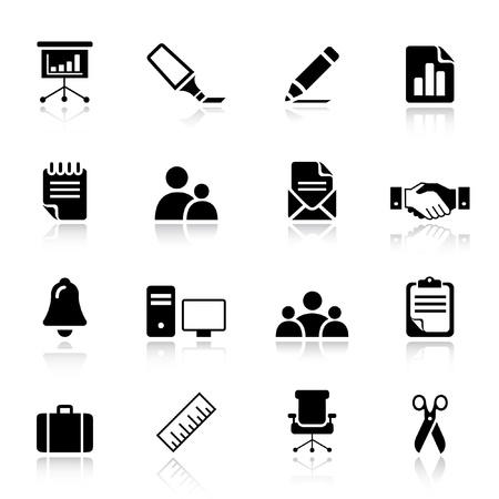 piktogram: Podstawowe - ikony Office i Business