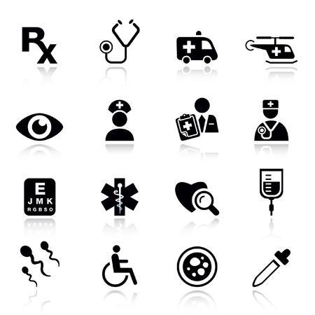 скорая помощь: Basic - medical icons