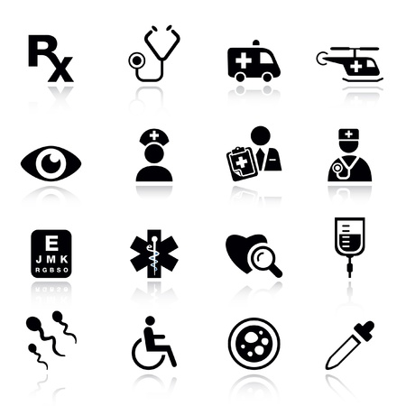 emergency: Basic - medical icons