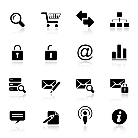 Basic - Classic Web Icons Vector