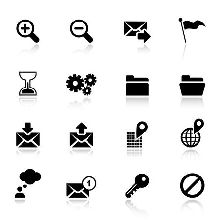 mail man: Basic - iconos de Web est�ndar