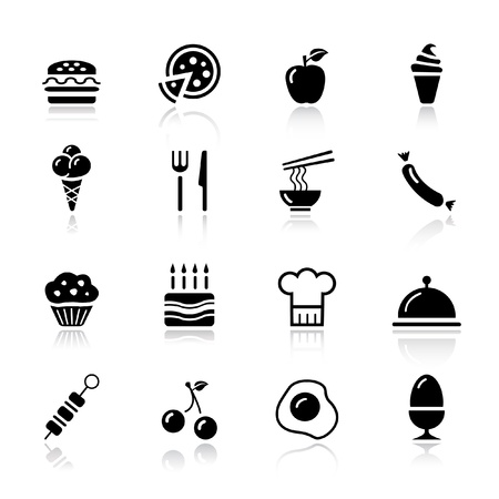 boiled eggs: Basic - Food Icons
