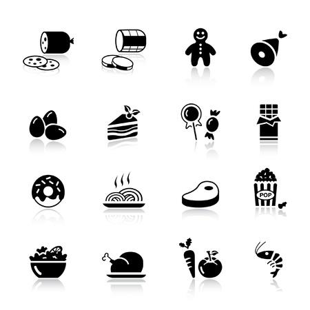 basic candy: Basic - Food Icons